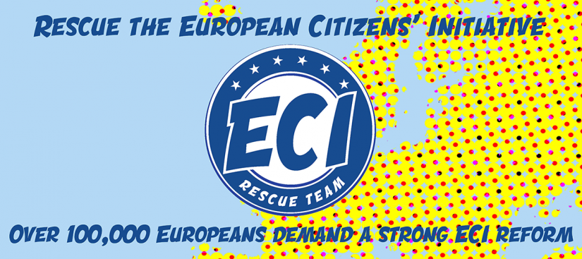 Over 100,000 Europeans demand a strong ECI reform