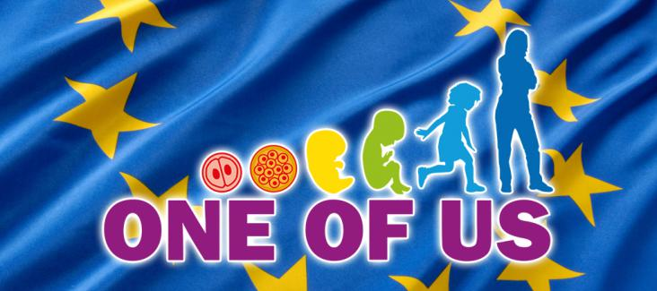The logo of the ECI 'One of Us'