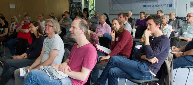 The audience of the annual conference in Fuldatal, Germany