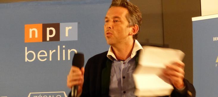 Daniel Schily in Berlin on 22 October 2015