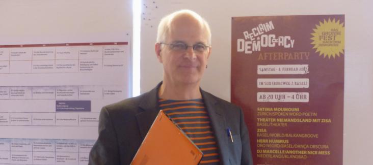 Beat Ringger, Co-ordinator of Denknetz