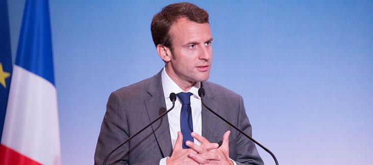 Newly elected President of France, Emmanuel Macron, Photo: Pablo Tupin-Noriega (Wikimedia Commons)