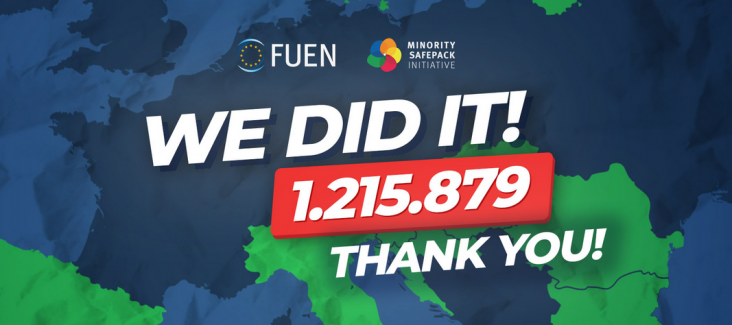 Minority Safepack reached 1 Million signatures just before the deadline