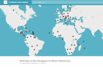 The Website of the Direct Democracy Navigator