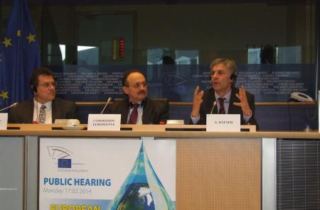 Gerald Häfner spoke in his capacitiy of rapporteur of the ECI legislation in the parliament
