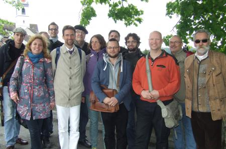 The participants of the journey