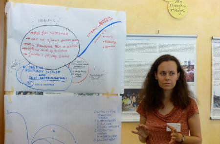 Beata Novomeska of the Slovak Association for Direct Democracy