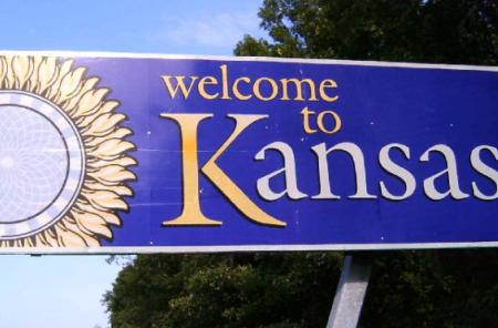 Welcome to Kansas (Photo by Bruno Kaufmann)