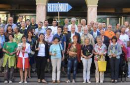 Activists of the Initiative for More Democracy in South Tyrol