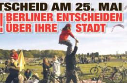 Berlin Referendum Volksenscheid Tempelhof
