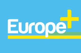 The logo of Europe+