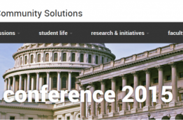 Democracy Conference 2015 in Arizona, screenshot of event website
