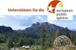 Unterstützen Sie die European Public Sphere bei der aid2people Gruppenspenden-Challenge