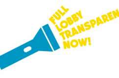 Stop lobby transparency now